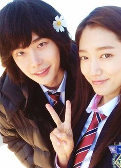 Park Shin Hye and Lee Jong Seok #PINOCCHIO