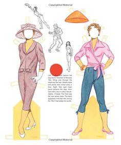 Tom Tierney's Fashion Fads Paper Dolls: Tom Tierney, Paper Dolls, David Wolfe: 9781942490128: Amazon.com: Books
