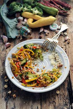 Wok de légumes à sa manière et à la mienne...