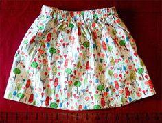 Skirts for girls tutorial Frocks For Girls, Little Girl Dresses, Baby Skirt, Baby Dress, Make Your Own Clothes, Diy Clothes, Ruffle Skirt Tutorial, Girls Skirt Patterns, Diy 2019