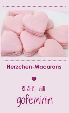 Wie süß! Herz Macarons zum Nachbacken mit Rezept!