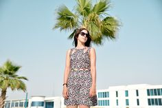 Island Girl - Photo by Sepideh Farvardin #500px #minimal #portrait #people #summer #palm #outfit