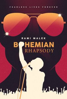 Kiss from a Rose: Bohemian Rhapsody - Becoming Freddie: Rami Malek I. Queen Movie, Queen Poster, Rock Poster, Non Plus Ultra, Bon Film, Films Cinema, Movies And Series, Queen Freddie Mercury, Rami Malek Freddie Mercury