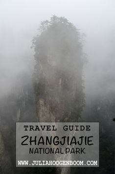 Visiting the sandstone peaks in Zhangjiajie National Park? Read this complete guide, so you can make the most out of your trip! Zhangjiajie, Travel Guides, National Parks, Around The Worlds, Clouds, Adventure, How To Plan, Reading, China