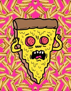 New party member! Tags: 90s food pizza pink nickelodeon old kid series rachel yummy clueless hot dogs gloomy blanchard