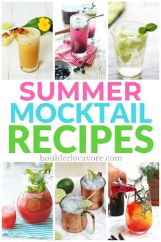 20 Refreshing Summer Mocktail Recipes deliver thirst-quenching flavor-packed non-alcoholic drinks to take the edge of the heat for all ages. #mocktailrecipes #mocktails #easyrecipe #drinks