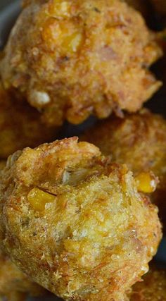 This Crab Corn Fritters Recipe is just the beginning. These fritters are full of crab, corn & Cajun spices. Corn Fritter Recipes, Cajun Recipes, Fish Recipes, Seafood Recipes, Cooking Recipes, Haitian Recipes, Donut Recipes, Top Recipes, Cajun Dishes