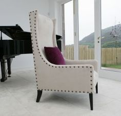 Stewart - available to order form Ollaberry in any fabric Order Form, Armchair, Fabric, Furniture, Home Decor, Sofa Chair, Tejido, Single Sofa, Tela