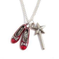 RUBY Red Slippers and the Good Witch's magical wand - Wizard... | Shop | Kaboodle