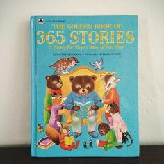 Kathryn Jackson and Richard Scarry - The Golden Book of 365 Stories (Golden Books)