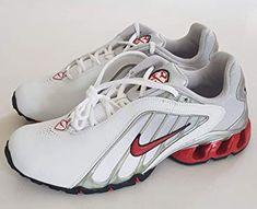 Nike IMPAX KWIKN Trainers Shoes White Red Black Metallic Silver Original  2005 UK 71720bb69