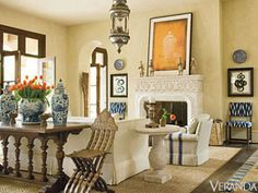 25 of the Greatest Rooms That Veranda's Ever Published | Curbed National