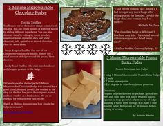 Our fudge is delightful and so easy to make!