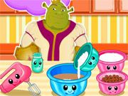 Free Online Girl Games, Shrek is making cookies for Fiona but he doesn't know how to put together the recipe!  In Shrek Chocolate Chip Cookies, you'll have to help cook a delicious dessert by mixing all the ingredients perfectly!  See if you can follow all the directions so Shrek and Fiona can eat some tasty cookies!, #shrek #dessert #baking #cooking