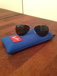 My daughter's new Ray Ban sun glases