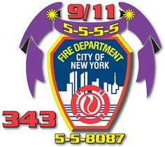 FDNY Memorial Flags for the Fire Department of New York