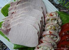 Schab Gotowany 2 x po 5 min. Fresh Rolls, Sushi, Ethnic Recipes, Food, Homemade, Meal, Essen, Hoods, Meals