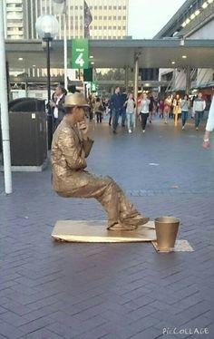 sitting on air...