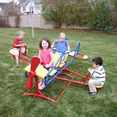 Get the kids outside and exercising with this teeter totter #bjs.com