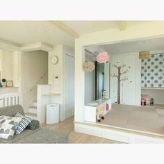 こどもと暮らす。/子供部屋/和室/リビング階段/階段/コンテスト参加中…などのインテリア実例 - 2016-11-13 00:05:40 | RoomClip(ルームクリップ)