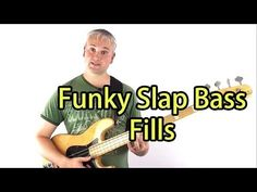 Funky Slap Bass Fills and How To Practice Them (Mark King Triplets etc.) (L#8) - YouTube