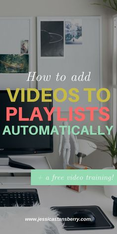 "Did you know that you can automatically add videos to playlists by title, keyword, tag or description?!? Well, YA CAN and Im teaching you how today. This is the method I use to have all of my recent videos go to my ""Recent videos to help you..."" playlist at the top of my channel so I could get rid of the ugly ""uploads"" section. #socialmedia #youtube #socialmediamarketing #business #businesstips #marketing #videotips #videomarketing #contentmarketing #youtubetips"