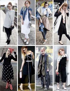 64 Looks / Outfit Inspirationen / Mein Mode Jahr 2017
