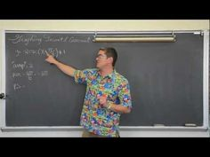 Graphing Secant & Cosecant w/ t-table - YouTube