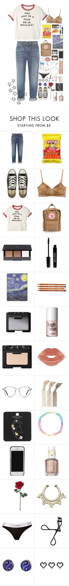 """""""One direction school//prt.2 (desc.)"""" by rosita562 ❤ liked on Polyvore featuring Alexander Wang, Converse, Ermanno Scervino, Fjällräven, H&M, Lord & Berry, NARS Cosmetics, Benefit, Manic Panic NYC and GlassesUSA"""