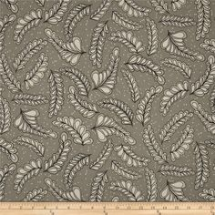 Valori Wells Blueprint Basics Branches Stone from @fabricdotcom  From Valori Wells Designs for Robert Kaufman, this cotton print fabric is perfect for quilting, apparel and home decor accents. Colors include shades of taupe grey.