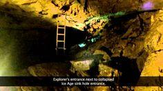 DJI Phantom 2 Drone First Underground Cave Flight