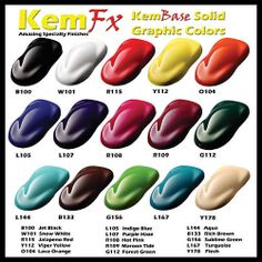 Custom Candy Car Paint ColorsCandy Paint Pearls  Buy Custom