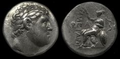 Philetairos Attalus Eumenes Coin, Coins, Greek Hellenistic Macedonian, Civilization History of Macedonia Greece   #Macedonia #Greek #Macedonian #Greece #History #coins #drachma #Philetairos #money #ancient #civilization