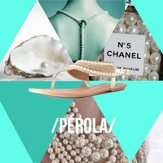 Vindo do estilo clássico dos anos 60, as pérolas estão de volta, de maneira simples mas sofisticada.    #love #instagood #happy #beautifuls #girl #smile #fashion #summer #moda #estilo #instamood #instalove #best #sapatos #sapato