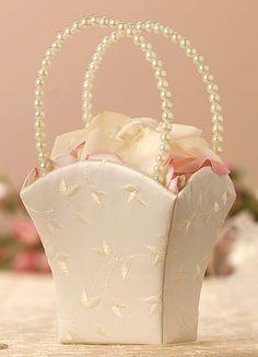 Как сделать свадебную корзину своими руками!