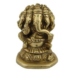 Ganpati Ganesha Brass Figurines from India 2 x 2 x 3 Inches >>> New and awesome product awaits you, Read it now  : Christmas Decorations