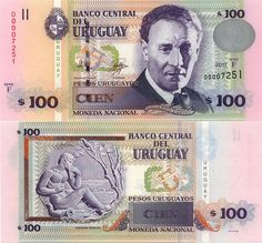 100 Pesos Uruguay 2011