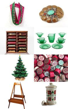 Raspberry and Lime Holiday  by Laura on Etsy--Pinned with TreasuryPin.com