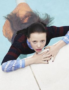 Mia Goth in Dazed & Confused Magazine Fall 2015