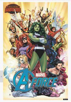 Female Avengers Assembel!!!