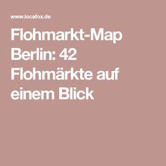 Flohmarkt-Map Berlin: 42 Flohmärkte auf einem Blick