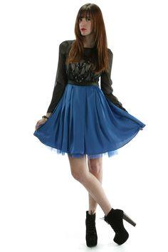 Save $35! Blue Lace Detail Dress, $45.00 (http://www.skinnybitchapparel.com/blue-lace-detail-dress/)