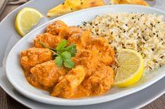 Deliciosa receta de Pollo Tikka Masala, uno de los platos más populares de la India. Consiste en trozos de pollo en una salsa de tomate con especias.