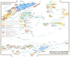 Timor and Eastern Indonesia: Dutch and Portuguese claims and actual control since 1859