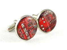 Manschettenknöpfe // cuff buttons via DaWanda.com
