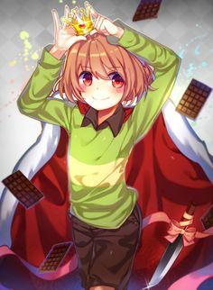 Chara loves chocolate and killing?