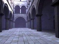 sponza atrium 3d - flythrough animation 3d Animation, Atrium