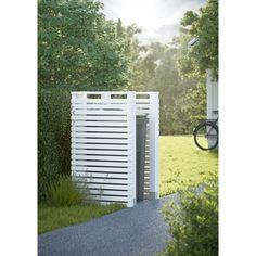 Låt fantasin flöda och lös många av hemmets problem Använd denna skärm för att bygga en soptunnegömma, kompost Teknisk information: Tryckimpregnerad gran