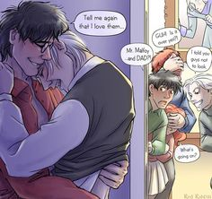 drarry and their kids :)