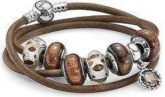 Pandora animal/wood/leather